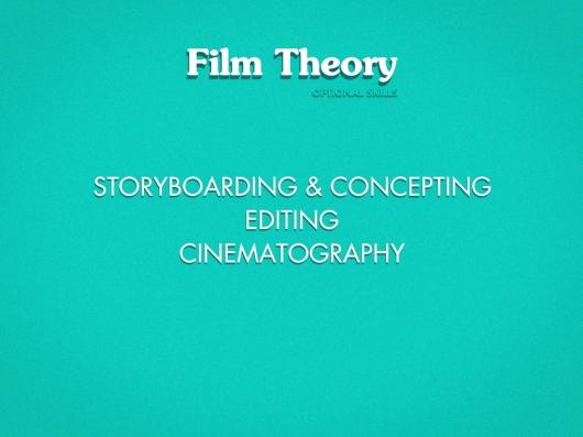 Film Theory